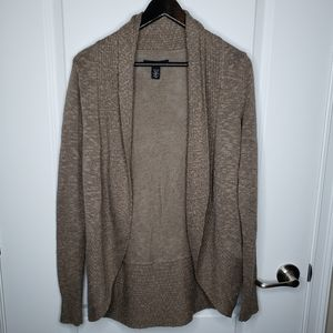 Kenneth Cole brown oversized cardigan